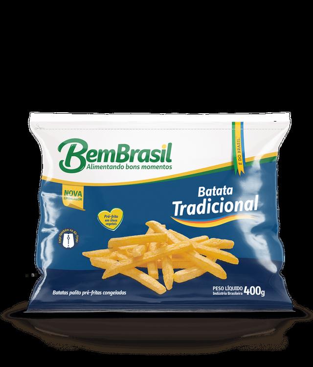 7898921567046 - BATATA BEM BRASIL TRADICIONAL 400G