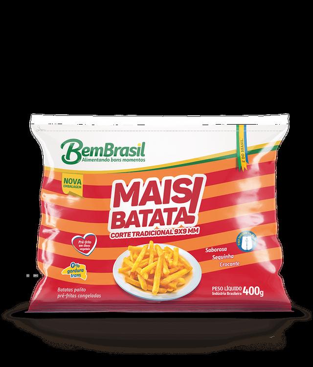 7898921567077 - MAIS BATATA BEM BRASIL 400G