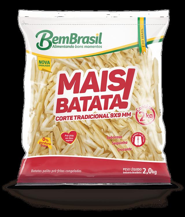 7898921567121 - MAIS BATATA BEM BRASIL 2KG