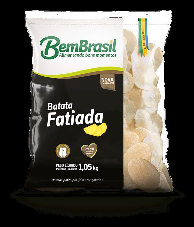 7898921567527 - BATATA BEM BRASIL FATIADA 1,05KG