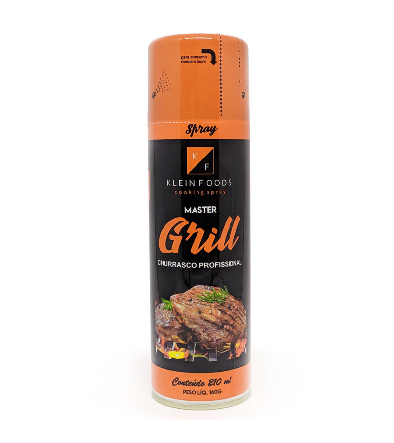 7898922505061 - MASTER GRILL P/CHURRASCO SPRAY KLEIN FOODS 210ML