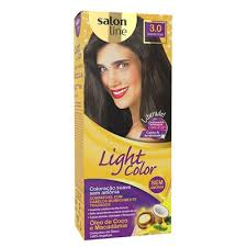 7898939082555 - TINT LIGHT COLOR 3.0 CASTANHA ESCURO