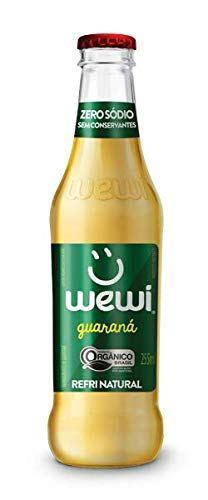 7898950338396 - WEWI ORGANICO GUARANA VD 24X255ML 24X255ML