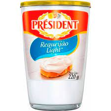 7898955617540 - REQUEIJAO CREMOSO LIGHT 200G PRESIDENT