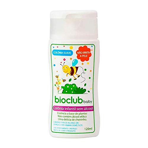 7898958217181 - COLONIA INF S/ALCOOL BIOCLUB BABY 120ML