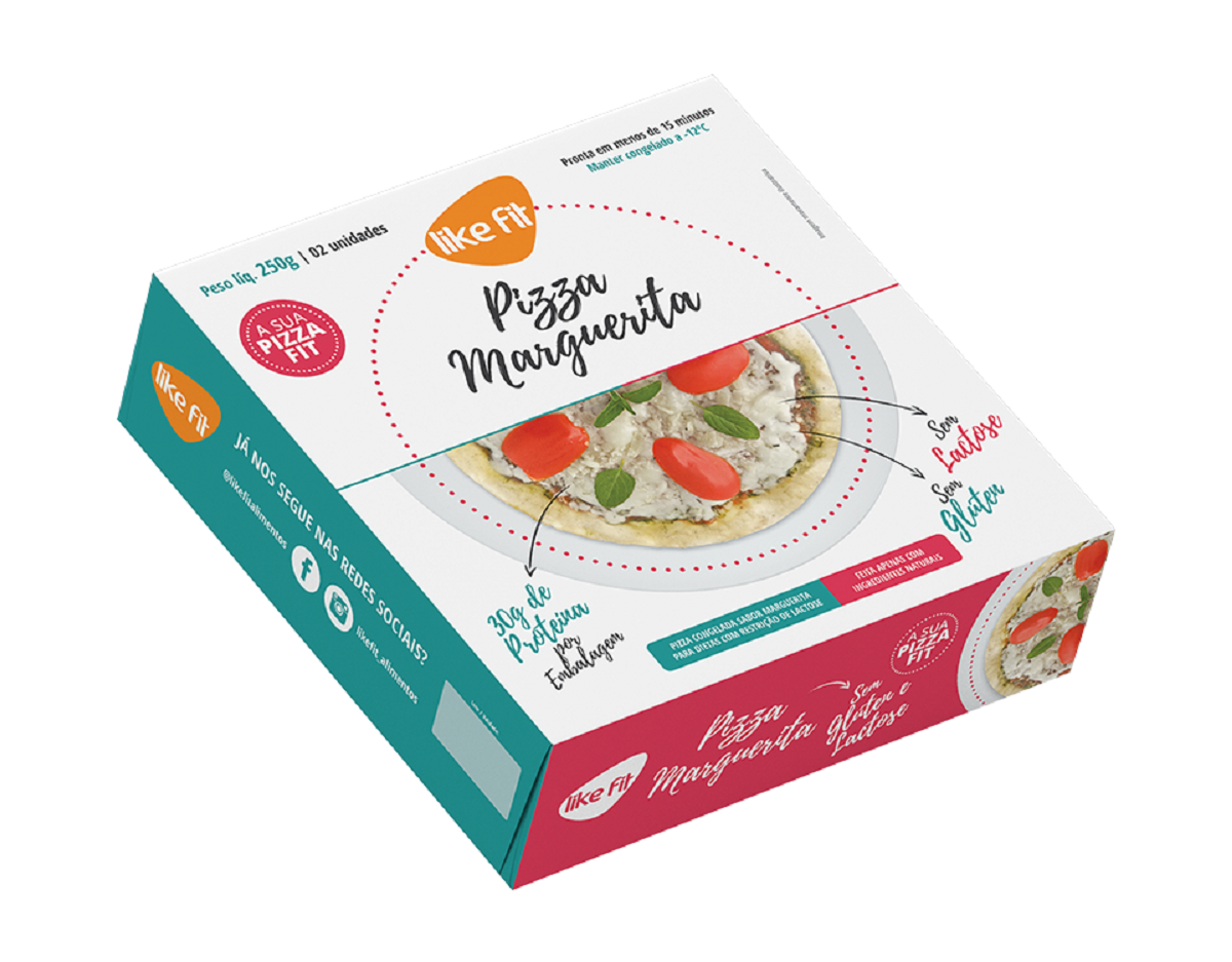 7898958309350 - PIZZA MARGUERITA LIKE FIT 250G