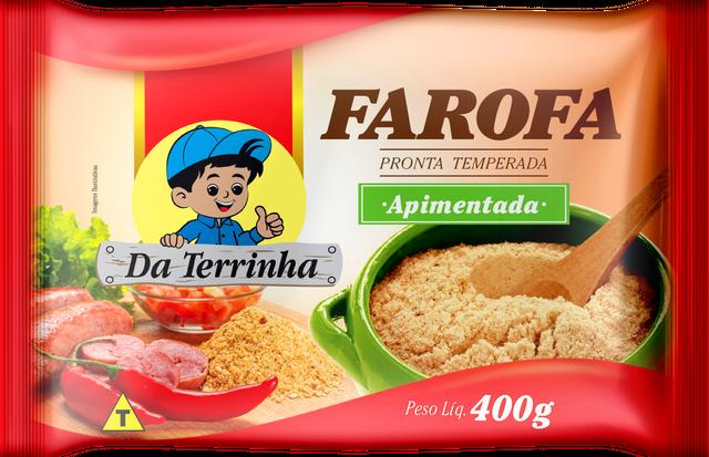 7898960982183 - FAROFA PRONTA DA TERRINHA APIMENTADA 400G