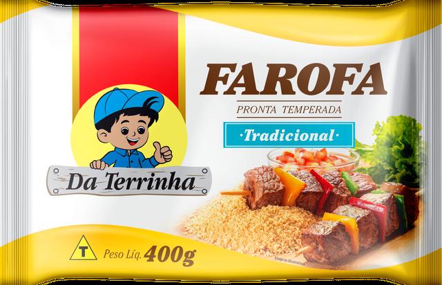 7898960982213 - FAROFA PRONTA DA TERRINHA TRADICIONAL 400G