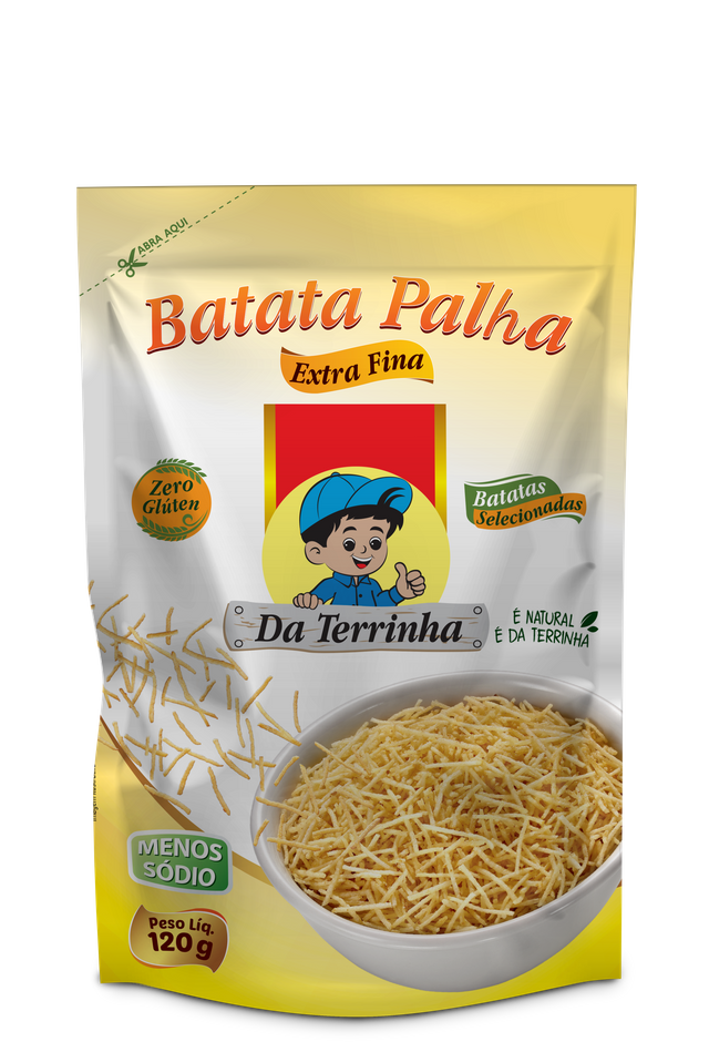 7898960982220 - BATATA PALHA DA TERRINHA EXTRA FINA 120G