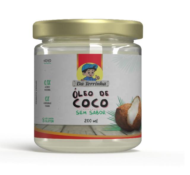 7898960982480 - OLEO DE COCO DA TERRINHA SEM SABOR 200ML