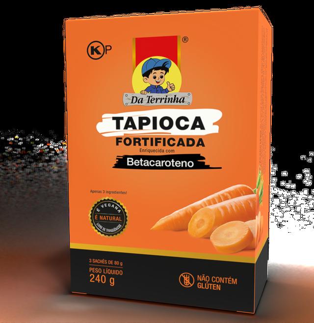 7898960982527 - TAPIOCA FORTIFICADA DA TERRINHA BETA 240G
