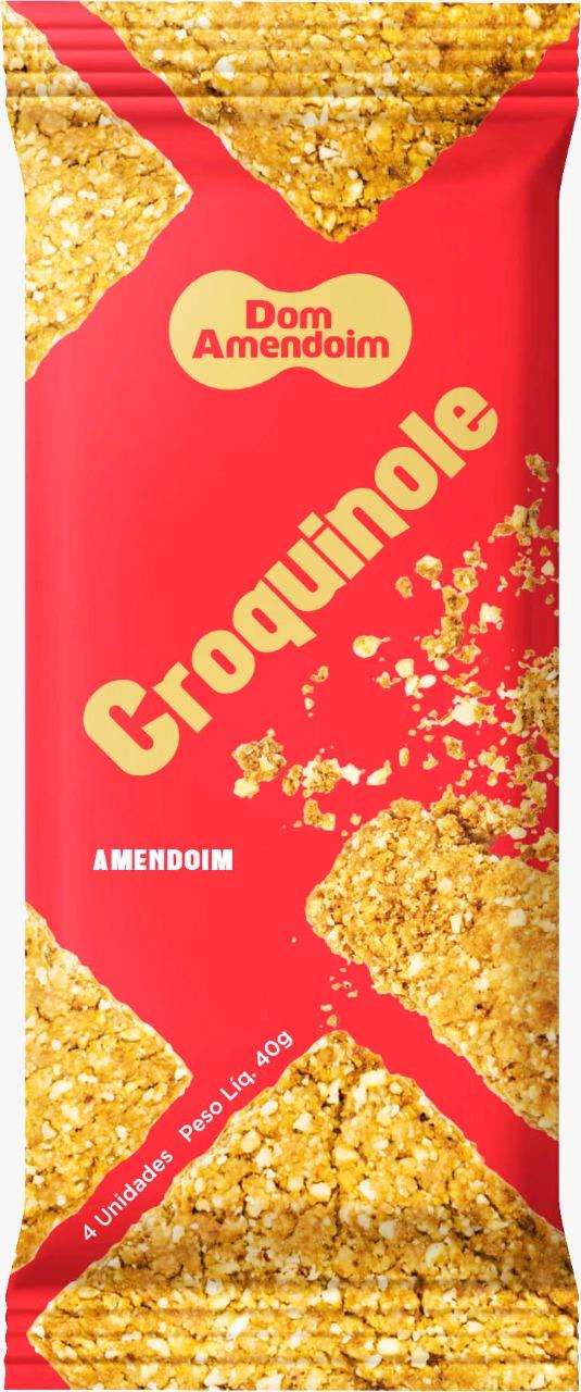 7898965777005 - CROQUINOLE DE AMENDOIM 40G