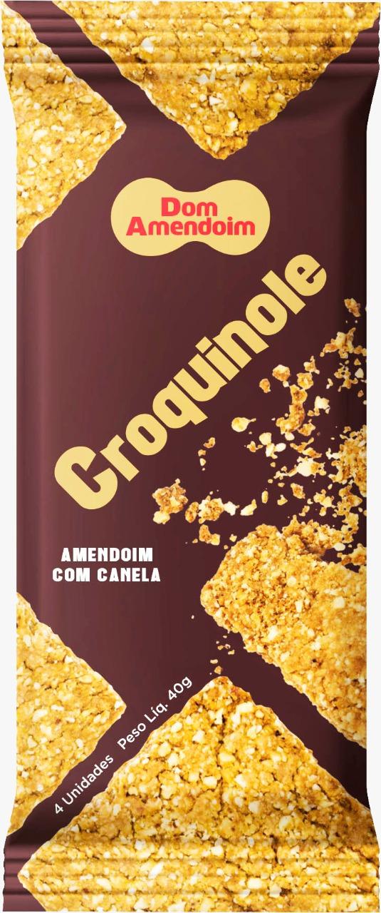 7898965777012 - CROQUINOLE DE AMENDOIM COM CANELA