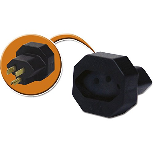 7899018443168 - ADAPTADOR DE PLUGUE TRIPOLAR FORCE LINE