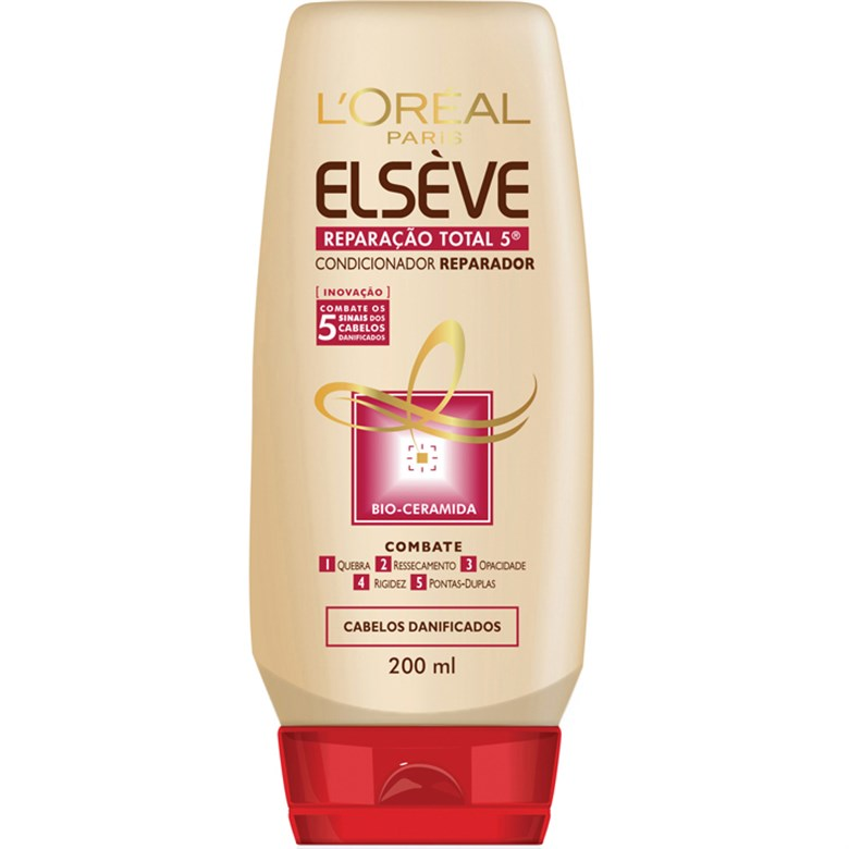 7899026420571 - CONDICIONADOR ELSEVE REPARACAO TOTAL 5+ 200ML LOREAL