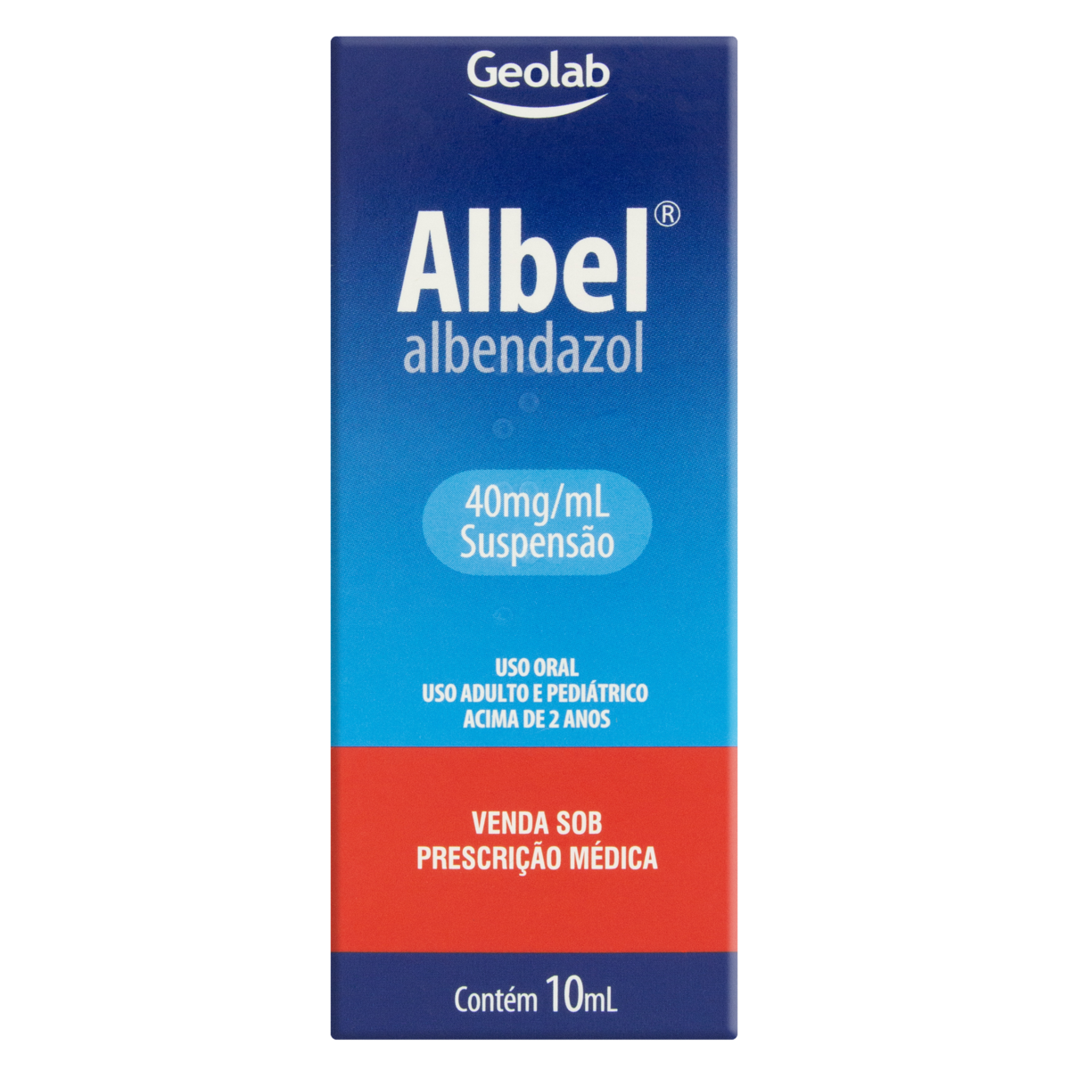 7899095201972 - ALBEL 40MG/ML GEOLAB CAIXA 10ML