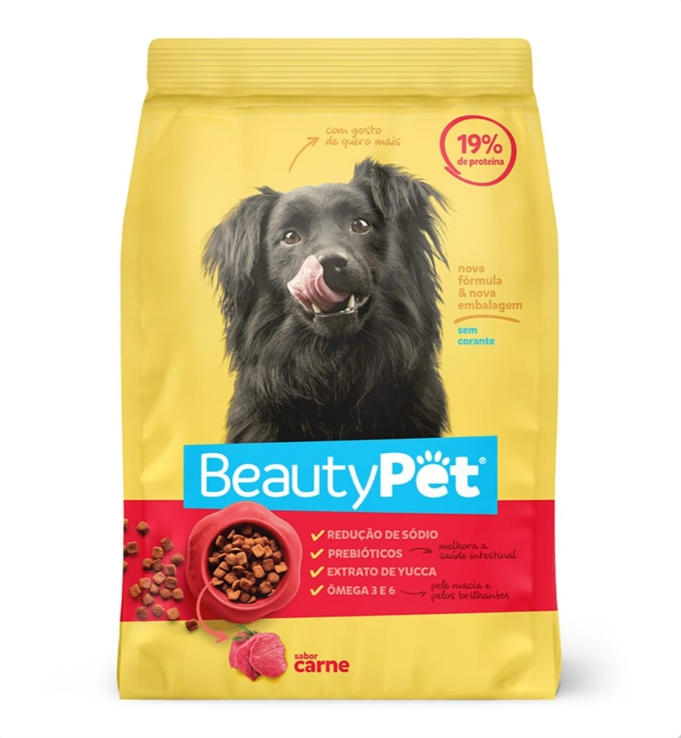 7899306026257 - RACAO CAES CARNE 6047G BEAUTY PET