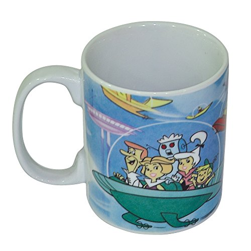 7899690831949 - CANECA PORCELANA URBAN HB THE JETSONS FAMILY SPACE