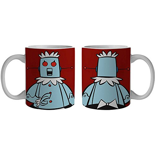 7899690831956 - CANECA PORCELANA URBAN HB THE JETSONS ROBOT ROSE