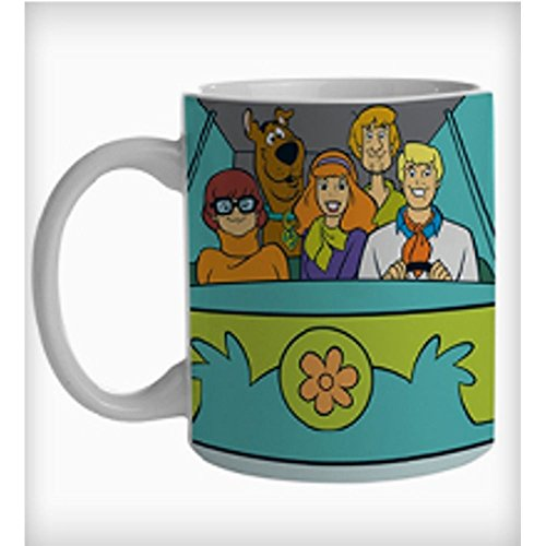 7899690831970 - CANECA PORCELANA URBAN HB SCOOBY THE MISTERY