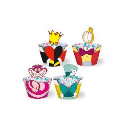7899743845282 - CUPCAKE WRAPPER REGINA R265 C/12 ALICE DISNEY