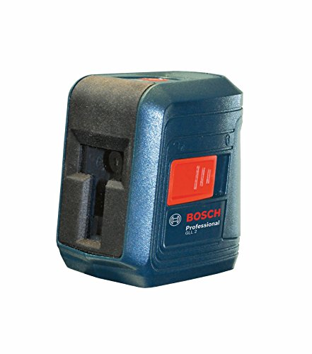 0793052484125 - BOSCH GLL 2 SELF-LEVELING CROSS-LINE LASER LEVEL WITH MOUNT