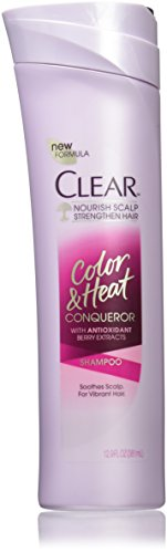 0794437443454 - CLEAR SHAMPOO, COLOR AND HEAT CONQUEROR 12.9 OZ