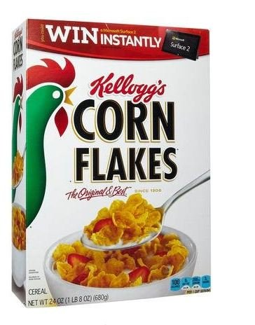 0794620612803 - KELLOGG'S CORN FLAKES CEREAL, 24 OZ (PACK OF 6)