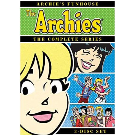 0796019810401 - ARCHIE'S FUNHOUSE: COMPLETE SERIES