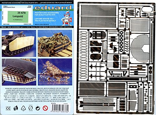 Eduard 1//35 Leopold etch For Trumpeter Kits # 35678