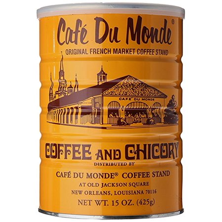 0798527144412 - CAFE DU MONDE COFFEE AND CHICKORY, 15 OUNCE