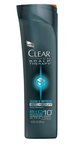 0798746832114 - CLEAR MEN SCALP THERAPY ANTIDANDRUFF SHAMPOO, CLEAN & REFRESH, 12.9 FLUID OUNCE