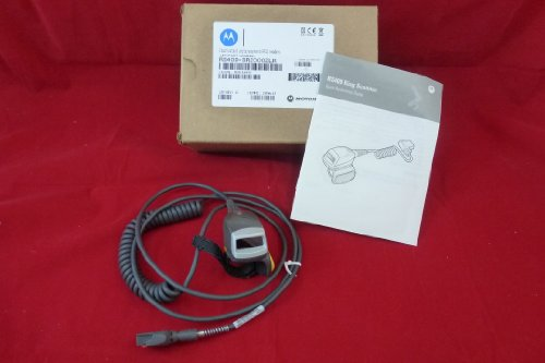 0799665874513 - MOTOROLA RS409 RING SCANNER - RING SCANNER , 1D LASER , HIP MOUNTED TERMINAL P/N: RS409-SR2000ZLR , LONG CORD