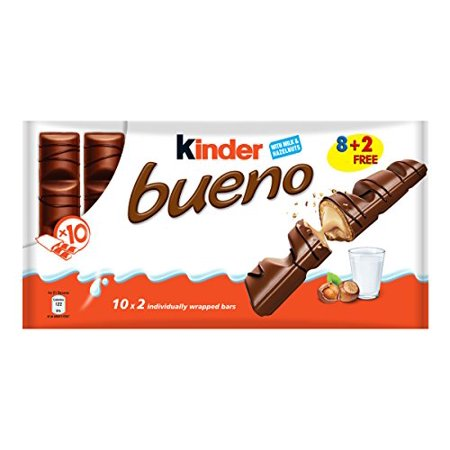 0800527600000 - KINDER BUENO 43G BAR X 10