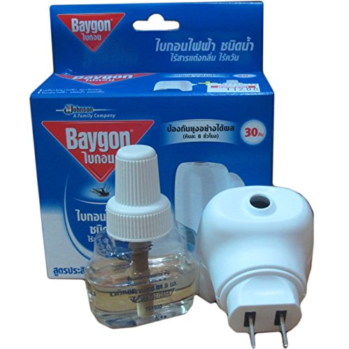0801862659203 - BAYGON LIQUID ELECTRIC MOSQUITO REPELLER 30 DAYS 0.77 OZ. (1 PACK)
