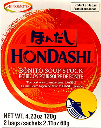 0804551696589 - (2 PACKS) AJINOMOTO - HON DASHI BONITO SOUP STOCK 4.23 OZ.