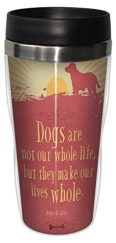 0805866781779 - TREE-FREE GREETINGS 78177 ANGI AND SILAS LIFE WHOLE SIP 'N GO STAINLESS LINED TRAVEL MUG, 16-OUNCE