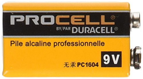 0806791952678 - DURACELL PROCELL ALKALINE BATTERIES, 9V, 12/BOX