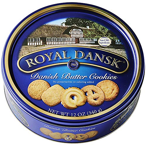 0806792085603 - ROYAL DANSK DANISH BUTTER COOKIES, 12 OZ
