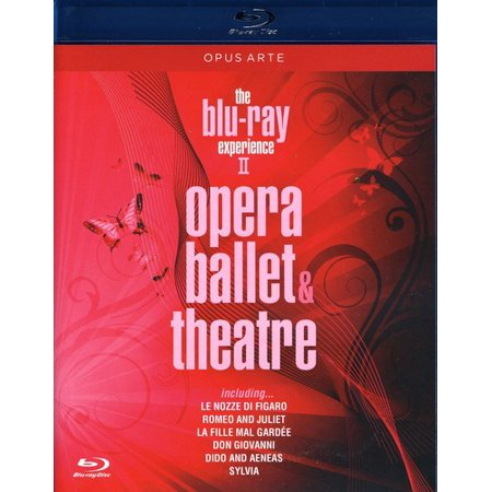 0809478070771 - THE BLU RAY EXPERIENCE, VOL. 2: OPERA, BALLET, THEATRE (LE NOZZE DI FIGARO/ROMEO AND JULIET/LA FILLE MAL GARDEE/DON GIOVANNO/DIDO AND AENEAS/SYLVIA)