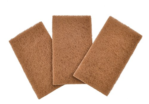 0810119020000 - FULL CIRCLE NEAT NUT WALNUT SHELL SCOURING PADS, NON-SCRATCH, 3-PACK