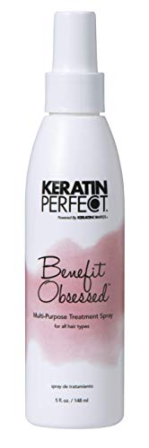 0810569032554 - KERATIN PERFECT BENEFIT OBSESSED MULTI-PURPOSE TREATMENT SPRAY - FOR ALL HAIR TYPES, NOURISHES & PROTECTS - PROLONGS KERATIN TREATMENT - NO ADDED SULFATES OR SODIUM CHLORIDE - 5 OZ