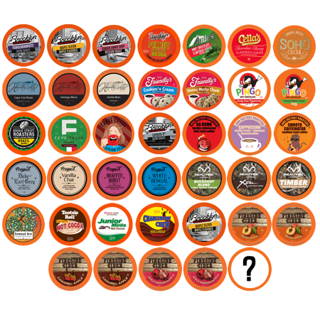 0810683022608 - TWO RIVERS BIT OF EVERYTHING SINGLE-CUP SAMPLER PACK FOR KEURIG K-CUP BREWERS, 40 COUNT
