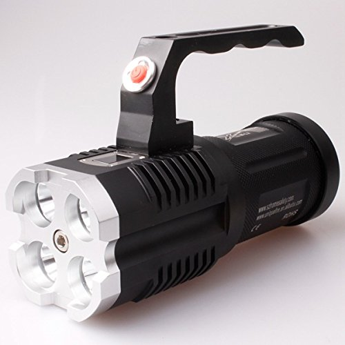8111162836337 - UNIQUEFIRE UF-1400 4XCREE XM-L2 3500LM LED FLASHLIGHT WITH HANDLE