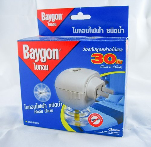 0811317515725 - SPECIAL OFFER !!! 3 OF BAYGON LIQUID ELECTRIC MOSQUITO REPELLER 30 DAYS 0.77 OZ.