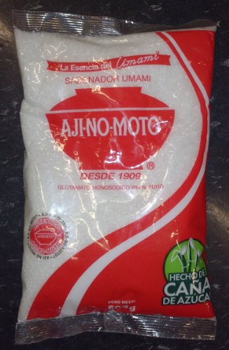0812125008041 - PERU FOOD AJI NO MOTO MONOSODIUM GLUTAMATE SEASONING 500 GR / 8 OZ