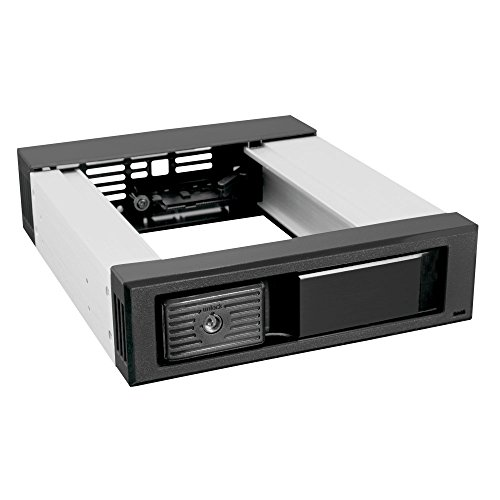 0812348012719 - KINGWIN 5.25 TRAY-LESS SATA MOBILE RACK FOR 1 X 3.5 HDD (MKS-135TL)