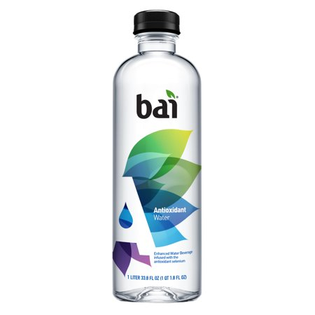 0813694025279 - BAI ANTIOXIDANT WATER, INFUSED WITH THE ANTIOXIDANT MINERAL SELENIUM, 33.8 FLUID OUNCE BOTTLE,12 COUNT