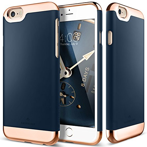 0814581022524 - IPHONE 6 CASE, CASEOLOGY® FOR APPLE IPHONE 6 & IPHONE 6S - NAVY BLUE