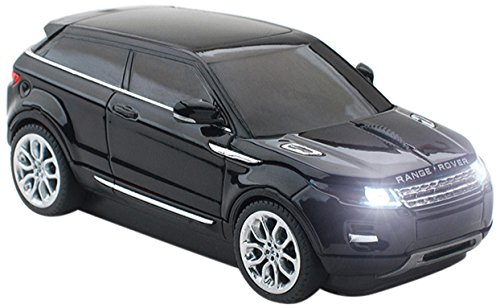 0816413016930 - CLICK CAR MOUSE BUNDLE KIT OF RANGE ROVER EVOQUE WIRELESS OPTICAL MOUSE AND 4GB USB 2.0 STICK, BLACK (CCB-RANGEROVER-BLACK)